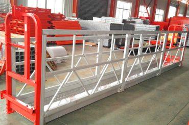 উইন্ডো পরিষ্কারের দড়ি স্থগিত প্ল্যাটফর্ম ZLP630 উত্তোলন LTD6.3 মোটর ক্ষমতা 1.5kw সঙ্গে