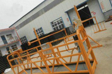 বিল্ডিং নির্মাণের জন্য নির্ভরযোগ্য ZLP630 পেইন্টিং ইস্পাত স্থগিত ওয়ার্কিং প্ল্যাটফর্ম (2)