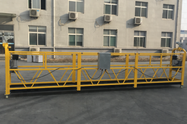 সিই সার্টিফাইড zlp630 অ্যালুমিনিয়াম বৈদ্যুতিক ঝুলন্ত নির্মাণ জন্য gondola