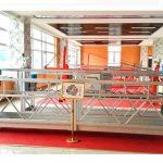 zlp630 অ্যালুমিনিয়াম স্থগিত প্ল্যাটফর্ম (সিই আইসো Gost) / উচ্চ বৃদ্ধি জানালা পরিষ্কার সরঞ্জাম / অস্থায়ী Gondola / প্যাডেল / সুইং স্তর গরম